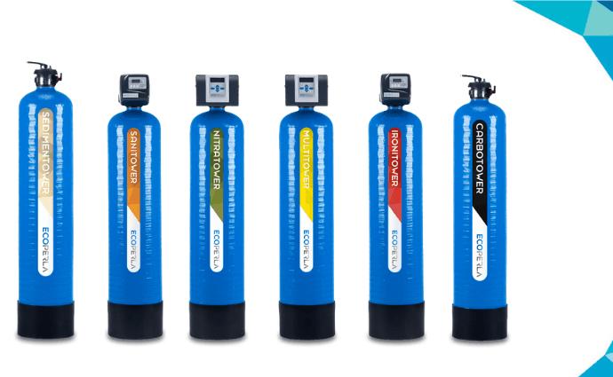 wydajna seria urządzeń filtracyjnych Ecoperla Tower