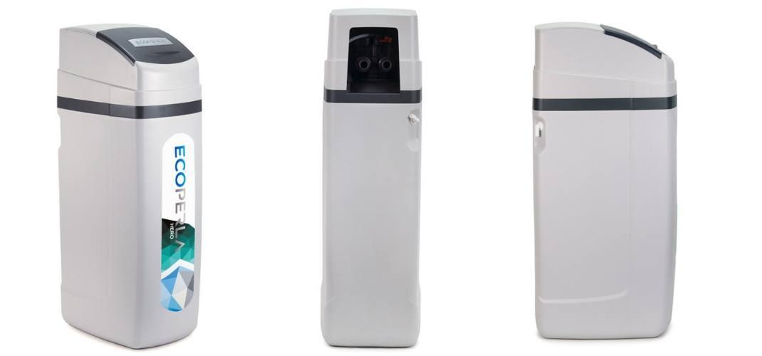 zmiękczacz wody z węglem aktywnym Ecoperla Hero - wygląd