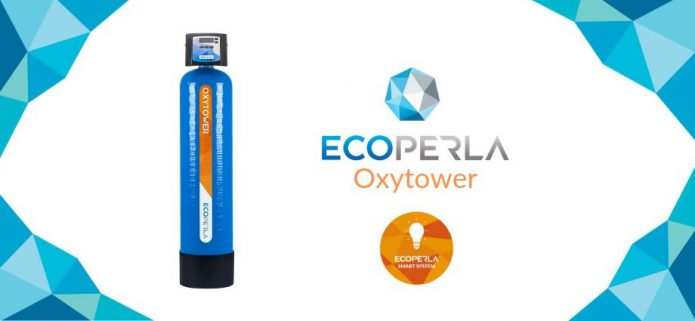Ecoperla Oxytower - sposób na żelazo i mangan w wodzie